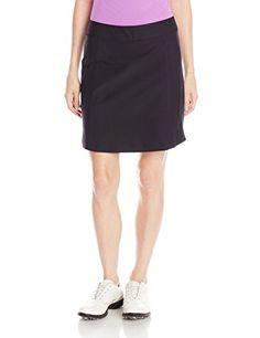 adidas Golf Women's Essentials Pure Motion Skort, Black, X-Large - http://golfclothingforwomen.shopping-craze.com/index.php/2016/04/08/adidas-golf-womens-essentials-pure-motion-skort-black-x-large/