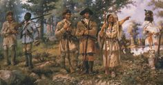 Lewis and Clark with Sacajawea    Sacajawea     #Montana #history #LewisandClark   http://www.uhaul.com/SuperGraphics/10/3/Venture-Across-America-and-Canada-Modern/Montana/The-superhero-to-the-expedition
