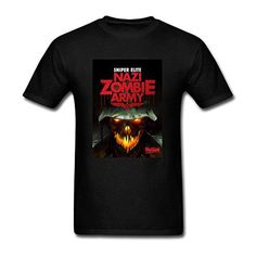 XIULUAN Men's Sniper Elite Nazi Zombie Army Game T-shirt Size XXL ColorName - Brought to you by Avarsha.com