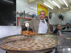 Flafel maker. Lebanese food blog. http://www.ottsworld.com/blogs/the-food-of-lebanon/