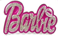 NEW ICED OUT NICKI MINAJ BARBIE PINK BUCKLE FOR BELT Silver: Clothing: Amazon.com