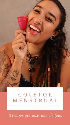 Porque e como usar Coletor Menstrual nas viagens | Uma Sul Americana Facebook, Blog, Menstrual Cup, How To Wear Scarves, Travel Ideas, Draping, Women, Tips, Traveling