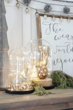 Christmas Favorites of 2015 - Nesting With Grace Christmas Love, All Things Christmas, Winter Christmas, Vintage Christmas, Christmas Crafts, Christmas Vignette, Elegant Christmas, Christmas Ornaments, Hygge Christmas