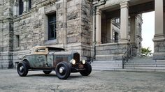 larry_chen_foto - I visited BC Parliament today #hotrod #ford #Victoria #32ford #vancouverisland #deucedays #samsung #note5 #sirplease