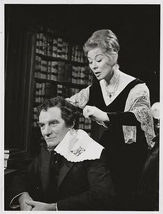 "Rarely seen later role, Greer Garson (59) and Trevor Howard in TV movie ""Invincible Mrs. Disraeli"" (1963)."