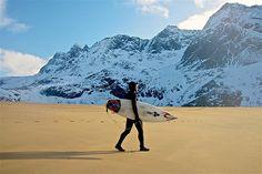 Surfing Arctic