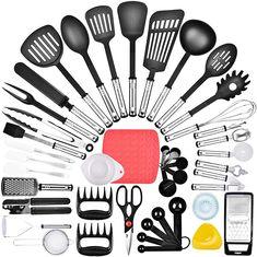 Baking Utensils, Cooking Utensils Set, Kitchen Utensil Set, Kitchen Sets, Cooking Tools, Kitchen Dining, Must Have Kitchen Gadgets, Kitchen Tools And Gadgets, Nylons