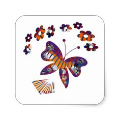 Caterpillar Into Stunning Butterfly Ceramic Tile - graduation gifts giftideas idea party celebration Graduation Stickers, Graduation Gifts, Butterfly Flowers, Diy Stickers, Caterpillar, Diy Party, Birthday Cards, Celebration, Gift Ideas