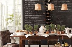 DIY Chalkboard Paint Decor