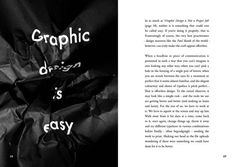 Popular Lies About Graphic Design by Craig Ward, via Behance