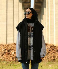 Tomboy Fashion, Fashion Outfits, Simple Tunic, Hijab Fashion Inspiration, Hijabs, Muslim Fashion, Cute Casual Outfits, Minimalist Fashion, Ootd