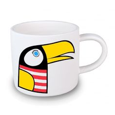 Jane Foster Toucan Mini Mug