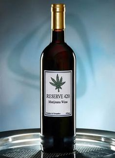 "WEED INFUSED WINE?!?!?! I don't think ""relevant to your interests"" even begins to describe this."