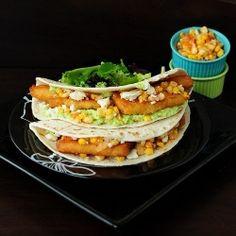 Mediterranean Fish Tacos recipe