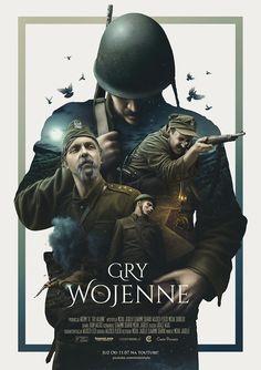 Poster created for Widzimy To - Gry Wojenne short film.