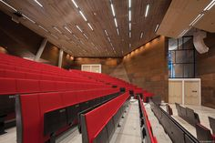 Image 11 of 36 from gallery of Auditorium Center in WU Campus / BUSarchitektur. Photograph by BOAnet.at