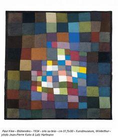 Paul Klee - Blühendes, 1934 at Kunstmuseum Winterthur Switzerland Art Lessons, Design, Color Theory, Paul Klee Paintings, Art, Bauhaus, Geometric, Abstract, Paul Klee