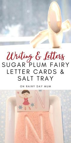 FREE printable letter cards inspired by the Sugar Plum Fairy. Play a matching game, use them for tracing or alongside a coloured glitter salt tray these are ideal for helping your preschoolers practice their letter skills.#christmasprewritingactivities #preschoolletteractivities #storybookadvent #rainydaymum Preschool Christmas Activities, Preschool Letters, Preschool Learning Activities, Alphabet Activities, Writing Activities, Abc Tracing, Christmas Alphabet, Sugar Plum Fairy, Upper And Lowercase Letters