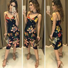 Untitled photos from sue apparel in 2019 платья, женская мод Looks Style, Casual Looks, My Style, Church Outfits, Got The Look, Short Prom, Skinny, Spring, Summer Outfits