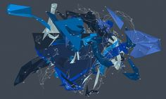 generative art, perlin noise, delaunay triangulation