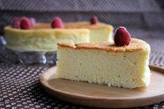 Tarta de queso japonesa o japanese cheescake, una receta ligera y diferente a la clásica tarta de queso