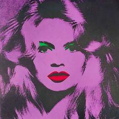 Brigitte Bardot, Andy Warhol (1974)