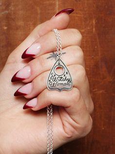 Souvenir Jewelry x Gypsy Warrior Witchy Woman Necklace - Gypsy Warrior Witch Fashion, Fashion Men, Grunge Jewelry, Jewelry Accessories, Women Jewelry, Gypsy Warrior, Diffuser Necklace, Unusual Jewelry, Birthday Wishlist