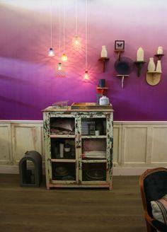 little shelf, hanging incense burner.