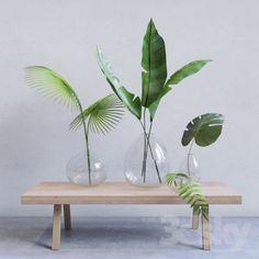 Precious Tips for Outdoor Gardens - Modern Fake Plants Decor, Faux Plants, Plant Decor, Indoor Plants, Vases Decor, Centerpieces, Table Decorations, Palm Plant, Flower Vases