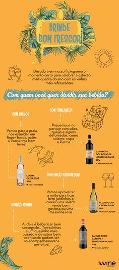 Vinho no verão? Pode sim! Não só pode, como combina perfeitamente, sabendo a escolha certa. #wine #vinho #verão #praia #piscina