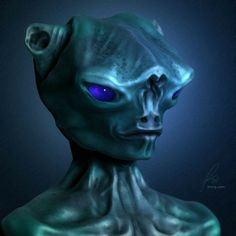 Awesome alien,  love those eyes