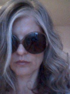 Beautiful gray hair