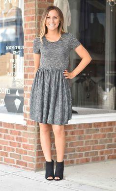 Black Knit Dress | Lane 201 Boutique