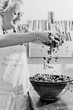 cookery courses in the UK based in the beautiful Somerset countryside Love Food, Tasty, Cooking, Salads, Fresh, Beautiful, Kitchen, Cuisine, Cuisine