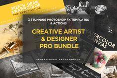 Creative Artist & Designer Bundle by Sherman Jackson on @creativemarket