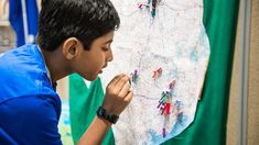 Students can travel across the globe without leaving the classroom. Check out these fun geography lessons for any grade and curriculum. Curriculum, Homeschool, Geography Lessons, Classroom, Education, Fun, Maps, Globe, Students
