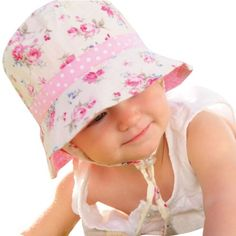b91ebceea69 Millymook Girls Reversible Cotton Sun Hat Vintage Bucket -Pink (Baby 12-24  Months