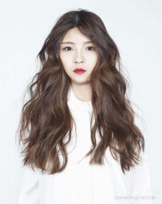 Famous hair salon in Gangnam