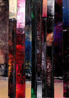 Collage Abstraction 1 by Kathy Morton Stanion. kathymortonstanio... #kathymortonstanion #abstractart #homedecor