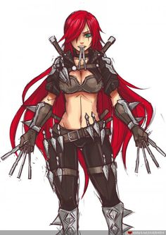 Katarina League Of Legends, Military Memes, Evil Empire, Fantasy Images, Girls Characters, Comic Books Art, Image Collection, Cool Art, Comics