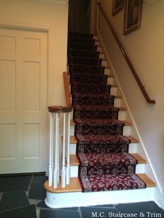 Newel Post Upgrade By M.C. Staircase U0026 Trim. Replacement Of Volute Newel  With A Traditional