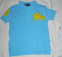 Ralph Lauren - *NEW* 3T Boys Polo by Ralph Lauren Shirt.   List Price: $5.00