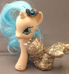 OOAK Custom My Little Pony G4 FiM MLP Merpony Mermaid Seaspray