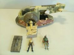 1996 Hasbro Star Wars Boba Fett Slave 1 Ship incomplete | Toys & Hobbies, Action Figures, TV, Movie & Video Games | eBay!