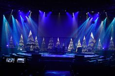 Flowing Trees from New Life Church in Colorado Springs, CO   Church Stage Design Ideas