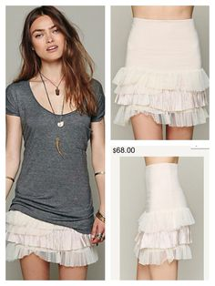 Must have layering skirt!