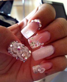 Cute wedding nails - My wedding ideas