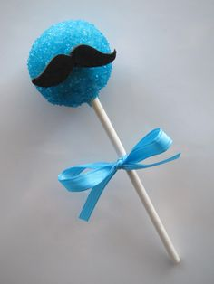 mustache cakes | Mustache Cake Pop | SweetTemptations.me - Creative Confectionery