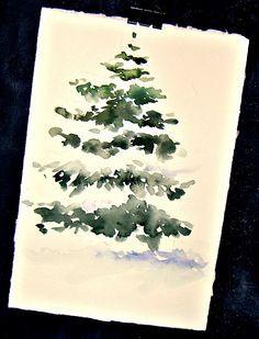 Dans et hors du studio: La neige a couvert Pine