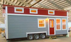 The French Quarter tiny house from Incredible Tiny Homes